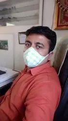 GABBARr Safety Cotton Mask, Medium