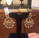 22k Dangle Gold Earring, 10 Gm