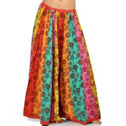Cotton Jaipuri Floral Design Lehnga Skirt 221