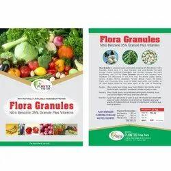 Flora Granules nitrobenzene granules Plant Growth Promoter