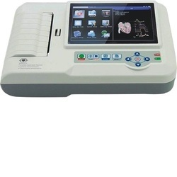 Six Channel ECG Machine