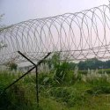 Silver Iron Border Security Fence