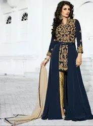 Beautiful Midnight Blue Designer Suit