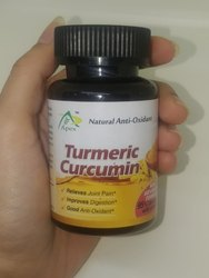 Turmeric Curcumin Capsules 95% With Piperine, Oem and Private Labeling Available Gmp & Halal