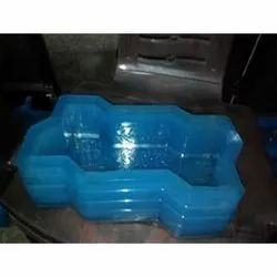 Zig Zag Shape Rubber Paver Mould
