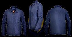 Men 100% Nylon Jacket - Water Resistant Finish