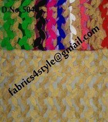 Net & Chenille Embroidery Fabrics