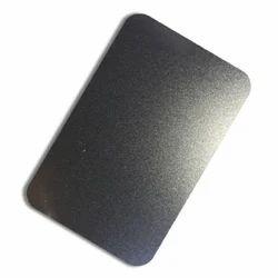 Stainless Steel Black Bead Blast Designer Sheets