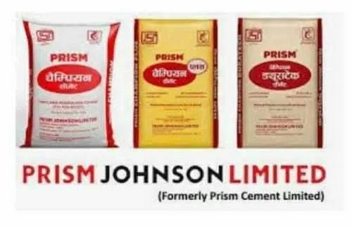 Prism Johnson Limited.