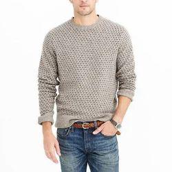 Wool Full Sleeve Mens Round Neck En Sweater