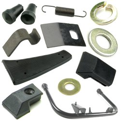 Vespa Stand & Floor Mat & Centre Mat For PX LML Star Stella 125 150 200 2T 4T Scooter Spare Parts