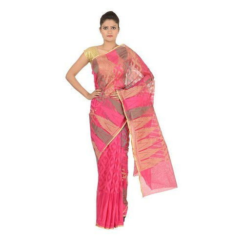 Casual Wear Ladies Fancy Printed Saree, With Blouse Piece