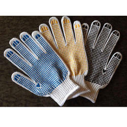 PVC Dotted Work Glove