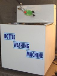 Single Brush Bottle Washing Machine