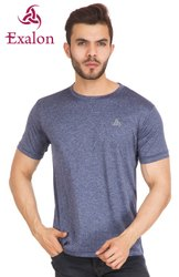 Exalon Half Sleeves Round Neck T-Shirt