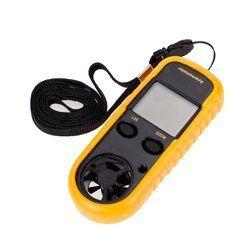 LCD Digital Wind Speed Temperature Measure Gauge Anemometer