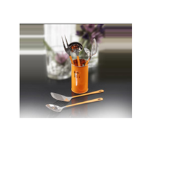 Orange Stainless Steel Tool / Cutlery Holders
