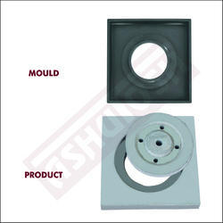 Square Manhole Frame Moulds for Round Cover (222 X 27)