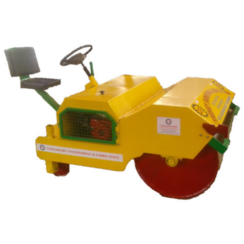 Pitch Rollers 1000 Kg Single Wheel Ride On Roller