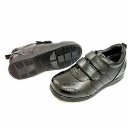 Velcro Unisex Kids Leather Shoe