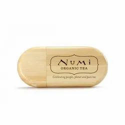 Wooden Oval Shape Pendrive