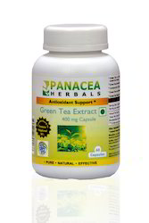 Green Tea Extract 400 MG Capsules, Packaging Type: Bottle, 60 Capsules