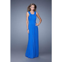The Kiara's Couture Blue Designer A Line Gown