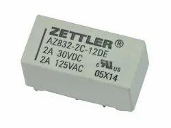 Telecom Relay Zettler AZ832-2C-12DE (12 Volts)