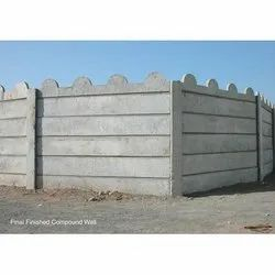 Compound Wall for Residential Societies