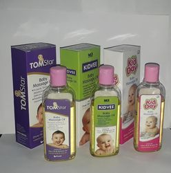 Olive Oil, Sunflower Oil & Almond Oil Massage Oil For Kids