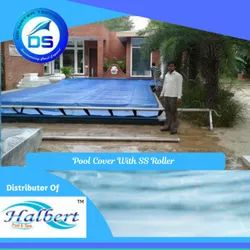 Pool Cover With SS Roller