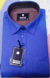 Mens Polyester Cotton Plain Shirts