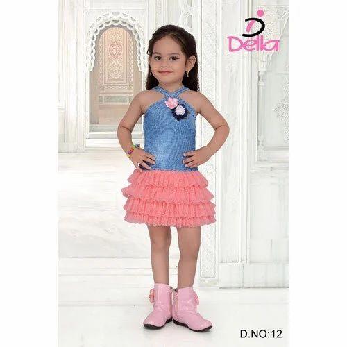 23b33be7f519 Della Kids Western Dress, Rs 450 /piece, Della For Kids | ID ...