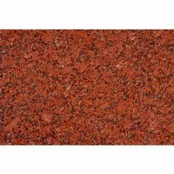 Polished Red Granite Stone, For Countertops, Thickness: 16 mm