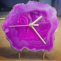 Decorative Agate Stone Watch