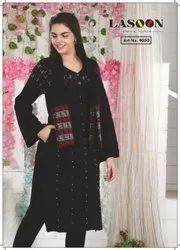 5068 Woolen Ladies Kurtis