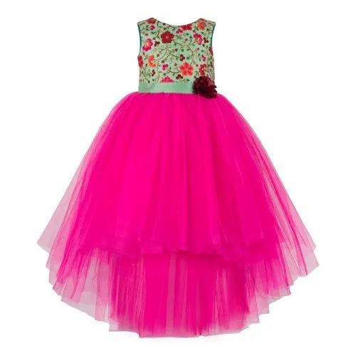 308ef56927aac Party Wear Embroidery Summer Latest Trends for Toddler Girls, Packaging  Type: Poly Packing,