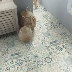 Multicolor Cushioned Vinyl Flooring, Thickness: 2.4mm To 3mm