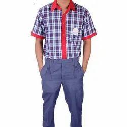 Kids Cotton School Uniform, 20-42
