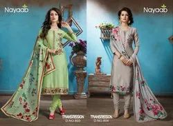 Nayaab Semistitched Suits