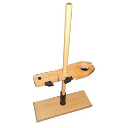Wooden Funnel And Burette Stand Combined