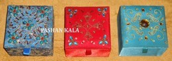Zari Embroidered Boxes