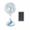 Rechargeable Portable Solar Fan