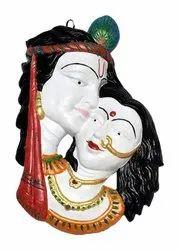 Multicolor Hand made Terracotta Pooja Decor