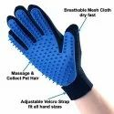 5-Finger Pet Deshedding Glove For Dogs And Cats