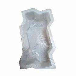 Silicone Plastic Zig Zag Paver Block Mould