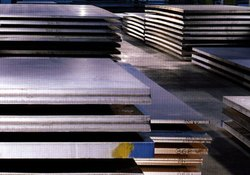 Rectangular Mild Steel Plate, For Industrial, Size: 4 Ft X 8ft