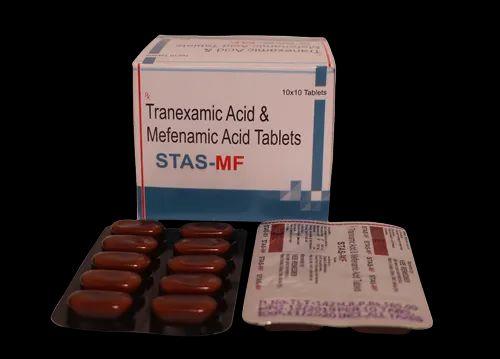 Stas-MF Tranexamic 500mg and Mefenamic 250mg Tablets