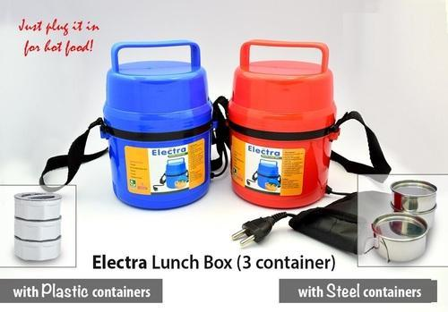 Sociosis Productions Plastic Electric Lunch Box