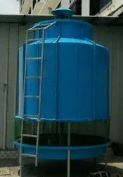FRP Forced Draft Round Cooling Tower